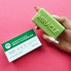 This soap bar works wonders on your skin in just 30 days! Suitable for sensitive and acne-prone skin, the toner is infused with AHA to slough off dead skin cells; BHA to remove excess sebum; PHA to prevent moisture loss; and tea tree to combat acne. K Beauty, Beauty Makeup, Soap Bar, Acne Prone Skin, Dead Skin, 30 Day, Tea Tree, Cleanse, Moisturizer