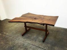 Taking shots #shots #table #furniture #furnituredesign #walnut #slab