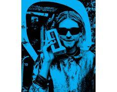 Kurt Cobain poster Kurt Cobain pop art by Antiquephotoarchive Pop Art Posters, Poster Prints, Music Posters, Art Print, Vintage Photographs, Vintage Images, Professional Poster, Photoshop Rendering, Photo Search