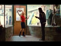 Blue Valentine - Ukulele Dance Scene One of the best movies I've seen when it comes to films telling love stories. It's really honest and doesn't shy away from all the things that happen in real life romances. This scene in particular is so sweet and was basically the result of the director following them around with a camera on a date.