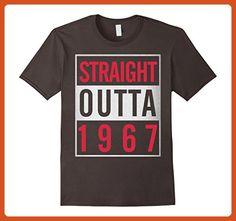 Mens Straight Outta 1967 - Awesome Funny 50th Birthday T-Shirt XL Asphalt - Funny shirts (*Partner-Link)