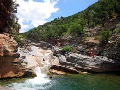 Petite cascade et piscine naturelle de la Vallée du Paradis - Agadir Maroc - It's 4 You Tours