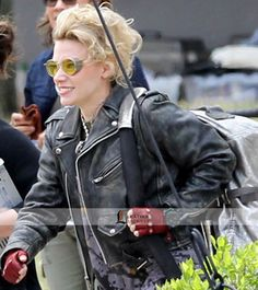 Kate McKinnon Ghostbusters 2016 Jacket you can buy this Amazing Jacket form LeathersJackets.com is offering FREE Shipping to USA, UK and Canada.