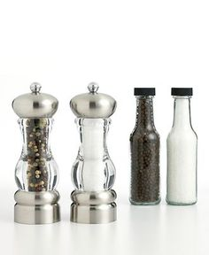 Martha Steward Collection Salt and Pepper Mill.
