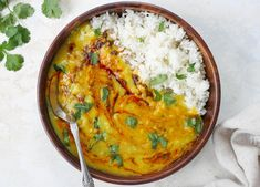 Instant Pot Everyday Dal and Rice (Pot-in-Pot)