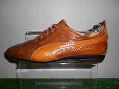 a52de19c8e87d9 PUMA 96 HRS ELSTRALTO MADE IN ITALY LEATHER MEN S SHOES TRAINERS SIZE UK 7  New Wardrobe