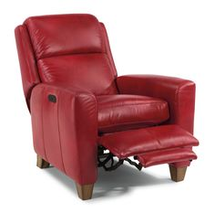 The Dion power high-leg recliner with power headrest is a versatile piece fit for any room in your home. Recline in comfort on the footrest, divided back cushion, and abundantly padded seat cushion.
