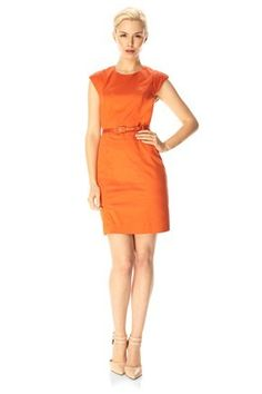 love this! FUSION DRAPE BELTED DRESS - Dresses - French Connection Usa