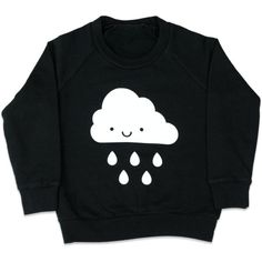 KAWAII CLOUD SWEATSHIRT — DLK | DESIGN LIFE KIDS ❤ liked on Polyvore featuring tops