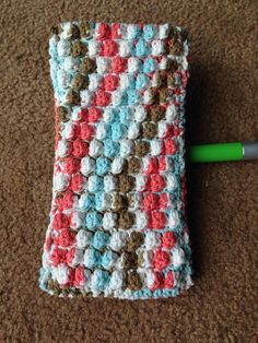 The Swifter Swiffer Cover By Knots Of Rainbows - Free Crochet Pattern - (ravelry)