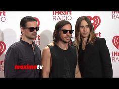 30 Seconds to Mars iHeartRadio Music Festival 2013 - Jared Leto Shannon ...