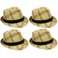 dc54cc2d36e Fedora MEN WOMEN Hat Trilby Cuban Cap Summer Beach Sun Panama Short Brim  Floral