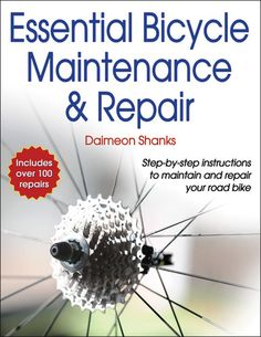 """""""Essential Bicycle Maintenance & Repair"""" teaches you how to repair your bike with minimal investment in specialized tools. Written for the do-it-yourselfer, not the professional mechanic, each repair includes step-by-step instructions and photo sequences, making the book an accessible and essential resource for any cyclist."""