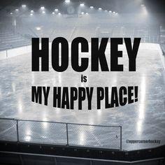 hockey is my happy place – SPORT hockey is my happy place hockey is my happy place Flyers Hockey, Hockey Rules, Blackhawks Hockey, Hockey Teams, Hockey Players, Chicago Blackhawks, Hockey Sayings, Youth Hockey, Stars Hockey