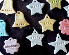 [Make] Salt Dough Gift Tags & Ornaments