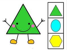 Color Words Kindergarten, Kindergarten Learning, Preschool Classroom, Preschool Worksheets, Preschool Shapes, Montessori Activities, Class Activities, Math For Kids, Diy For Kids