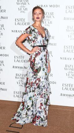 Ella Purnell - Harper's Bazaar Women of the Year Awards Best Celebrity Dresses, Celebrity Style, Oct 2016, London United, Little Dresses, Bellisima, Her Style, Flare Dress, Style Icons