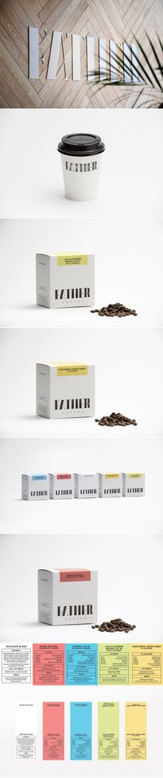 Father Coffee Packaging — The Dieline - Branding & Packaging Design