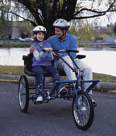 Team Dual Trike Special Nedds Adaptable trike From Industrialbicycles.com Phone 800 561-6670