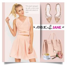 """""""Atomic Jane"""" by atomic-jane ❤ liked on Polyvore featuring Oscar de la Renta and Yves Saint Laurent"""
