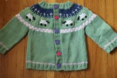knitting baby sweaters - Buscar con Google