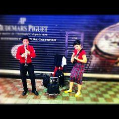Street band in HK