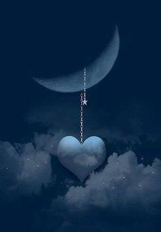 Y el corazón se estrelló a la luna - kpf