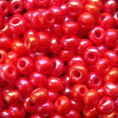 preciosa ornela czech beads,seed beads,red beads,czech glass,beading beads,