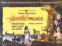 The Haunted Palace (HP Lovecraft / Edgar Allan Poe poem) starring Vincent Price (Horror Movie) Directed by Roger Corman  It's good to see this and other similar films getting the bluray treatment. classic films / movies #thehauntedpalace #edgarallanpoe #vincentprice   #classicfilms #films #movies #bluray #hplovecraft #horrormovies #horrorfilms #horror #rogercorman