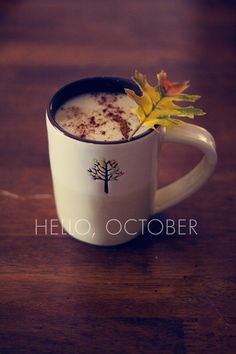Hello October, my favourite month!