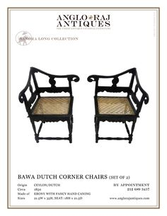 The finest antique colonial furniture from South Asia within extensive ebony collection. Bringing you the finest in Anglo Indian Furniture and Antiques.