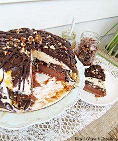 Turtle Ice Cream Cake...
