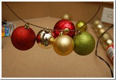 Ornament Wreaths - Looks easy