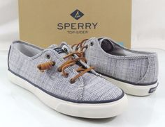 Women's Shoes Sperry Top Sider SEACOAST Fashion Sneakers Crosshatch Navy #SperryTopSider #Fashionsneakers