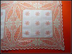 Christmas Fun, Crochet Christmas, Crochet Tablecloth, Filet Crochet, Diy And Crafts, Crochet Patterns, Quilts, Stitch, Blanket