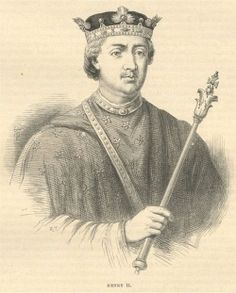 Henry II Plantagenet husband of Queen Eleanor