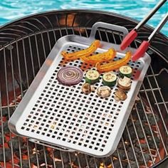 Grill Grid, BBQ Pan, Grilling Tray, Grill Pan, Grilling Pan | Solutions