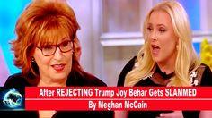 After REJECTING Trump Joy Behar Gets SLAMMED By Meghan McCain(VIDEO)!!!