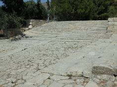 This area at Knossos may have been used for ceremonies.