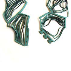 Eldis Green   Contemporary Necklaces / Pendants by contemporary jewellery designer Jelka Quintelier