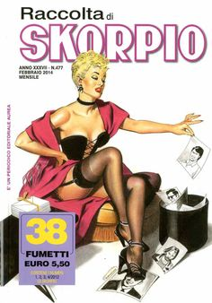 Fumetti EDITORIALE AUREA, Collana SKORPIO RACCOLTA n°477 Febbraio