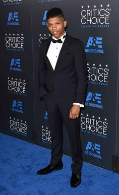 Bryshere Gray At The 2015 Critics Choice Television Awards