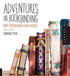 Each project in this book combines bookbinding with a specific craft such as quilting, jewelry making, or polymer clay, and offer levels of expertise: basic, novice, and expert. Illustrated step-by-st