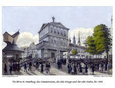Bildergalerie: Hamburger Gebäude und Denkmäler im 19. Jahrhundert - hamburg.de