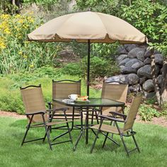 Northcrest Park View 6 Piece Folding Patio Dining Set Ko