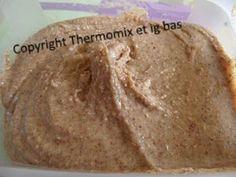 thermomix et IG bas: Purée d'amandes