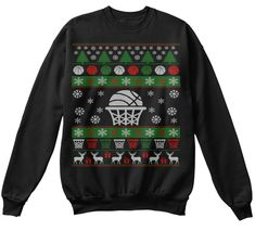 Discover Basketball Ugly Christmas Sweater Sweatshirt, a custom product made just for you by Teespring. Ugly Sweater, Ugly Christmas Sweater, Basketball Gifts, Pullover, Being Ugly, Graphic Sweatshirt, Sweatshirts, Lovers, Gift Ideas