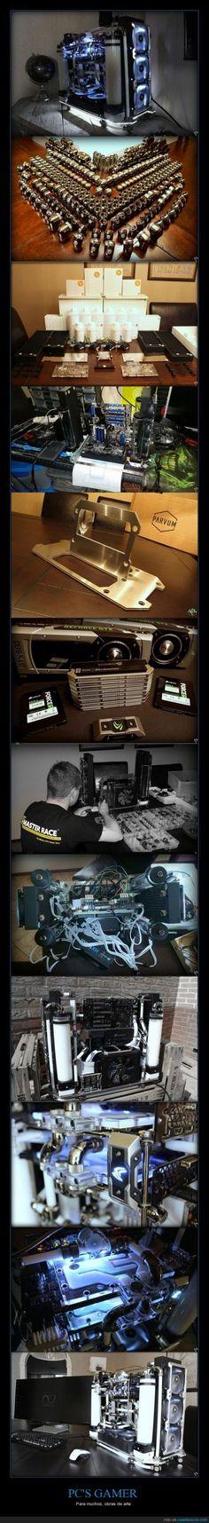 PC'S GAMER - Para muchos, obras de arte   Gracias a http://www.cuantarazon.com/   Si quieres leer la noticia completa visita: http://www.estoy-aburrido.com/pcs-gamer-para-muchos-obras-de-arte/