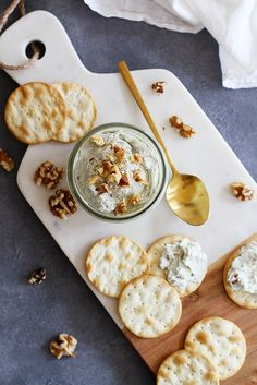 Nutty Blue Cheese Spread | Girl Versus Dough