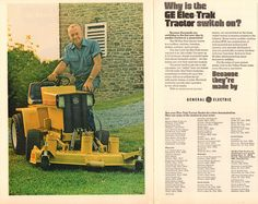 1973 General Electric Elec-Trak Tractor Advertisement Time May 21 1973 | by SenseiAlan